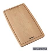 Stow Green FSC Beech Wood Shaped Chopping Board Large 39cm x 23cm