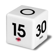 Gaddrt Cube Timer, 5, 15, 30 and 60 Minutes,Time Management Kitchen Timer Workout Timer