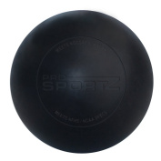 Lacrosse Massage Ball By Pro Sportz - Specifically Designed For Trigger Point Massage. Meets NOCSAE Standard & NCAA / NFHS Certified