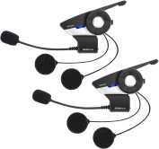 Sena 20S Motorcycle Bluetooth Communication System Dual Pack 20S-01D
