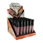 KLEANCOLOR Madly Matte Lip Gloss Display Case Set 36 pieces LG1818