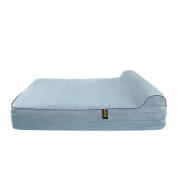 Dog Bed Replacement Cover for KOPEKS Memory Foam Beds Grey - Extra Large