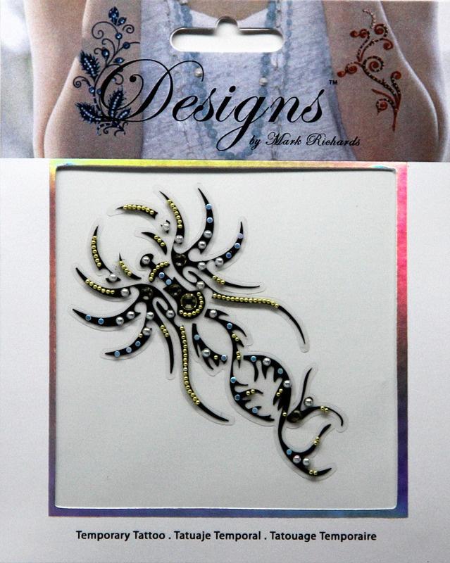 Temporary Transfer Tattoos for Adult Men Women Kids/(6 Sheets/), Waterproof Tattoo Sticker Halloween 3D Fake Tattoos Body ...