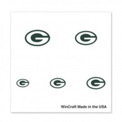 Green Bay Packers Fingernail Tattoos - 4 Pack