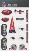 New England Patriots Variety Pack Tattoo Set