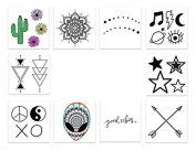 Inked by Dani Temporary Tattoos, The Festival Pack