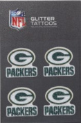 Green Bay Packers Glitter Tattoo Set