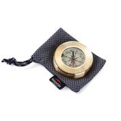 Compass Portable Pocket Gold Waterproof Anti-shock Outdoor Hiking Camping Compass Navigation Tool