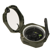 Svbony Pocket Army Lensatic Sighting Compass with Inclinometer for Navigation Hiking Camping Survival Marching Surveyors Foresters Military