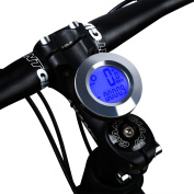 Bike Computer,West Biking Odometer Speedometer For Bicycle,Automatic Wake-up Wireless Waterproof With LCD Backlight,Cycle Computer For Tracking Riding Speed and Distance,Cycling Accessories