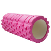 Ktaxon 33cm x 15cm Yoga Pilates Foam Roller with Floating Point High Density Grid for Muscle Tissue Massage Fitness Workout Sports