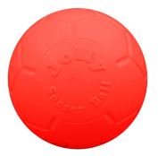Jolly Pets 15cm Jolly Soccer Ball - boxed pkg, Orange