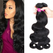 CGG Brazilian Virgin Hair Body Wave Human Hair 3 Bundles Unprocessed Brazilian Body Wave Hair Extensions Natural Colour