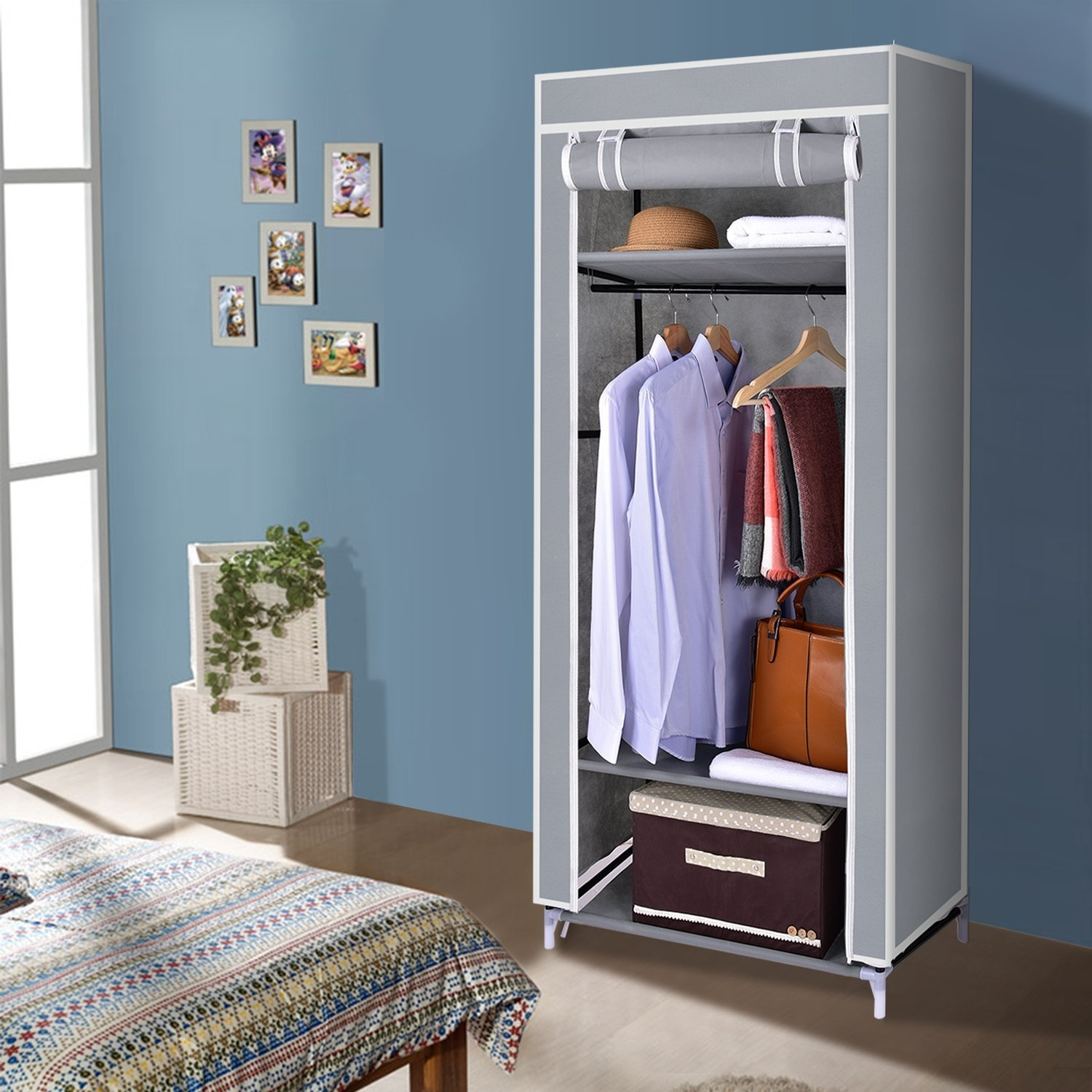 Beamfeature Childrens Fabric Storage Cabinet