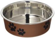 Loving Pets Bella Small Bowl, Copper Metallic