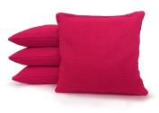 Tailgating Pros Cornhole Bags - 4 Regulation Size Corn Hole Bags - 23+ Colours Options