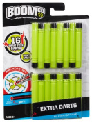 BOOMco. Extra Darts Pack, Green with Black Tip