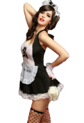 GBT Sexy Lace Perspective Maid Outfit