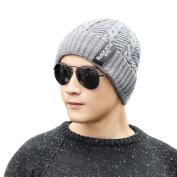 Baggy Beanie Knit Hat, FeiliandaJJ Men's Winter Warm Fashion Ski Hat Skull Cap