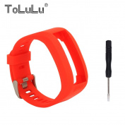 For Garmin Vivosmart HR Accessory Replacement Silicon Wrist Band Strap w/Too For Garmin Vivosmart HR Hot Colourful Soft TPU Wristband Strap Bracelet+Clasp