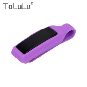 For Fitbit Alta Fitness Tracker!Colourful Replacement Silicon Clip Cover Holder For Fitbit Alta Candy Colour TPU Replacement Belt Bra Clip Clasp Cover Holder