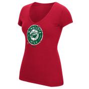 "Minnesota Wild Women's NHL Reebok ""Ice Shatter"" Scoop Neck Shirt"
