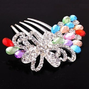 MJW & W Rhinestone Alloy Headpiece-Wedding Special Occasion Halloween Anniversary Birthday Congratulations Party/ Evening