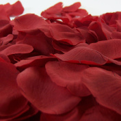 AEXGE Wholesale 600pcs Silk Rose Petals Artificial Flowers Wedding Gifts for Home Party Garden Burgundy