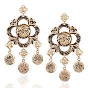 Drop Earrings Rhinestone Women's Girls' Droplets Style Euramerican Fashion Dailywear Party Movie Jewelr
