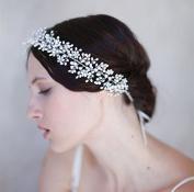 Women's Pearl Rhinestone Wedding Bridal Headpieces