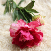 Xshuai® Artificial Fake Flowers Peony Floral Wedding Bouquet Perfect for Party Birthdays Anniversaries Valentines Wedding Home Decoration
