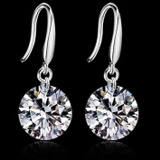 Wedding Princess Birde Sterling Silver With Platinum Plating Jewellery Women Wedding / Party / Daily Earrings
