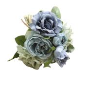 Vovotrade®Fake Rose Flowers Bouquet Floral Wedding Party Legant Home Decor
