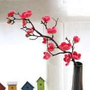Vovotrade®Artificial Flowers,Silk Fake Plum Blossom Floral Wedding Bouquet Party Home Decor