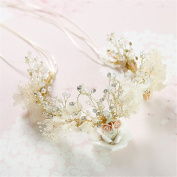 Women's Headpiece-Wedding Special Occasion Casual Fascinators Bride Headdress Get married Crown Wedding dress Accessories