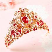 Women ' s Headpiece-wedding Special Occasion casual Fascinators Bride European crown diamond hair accessories