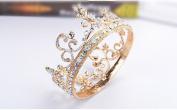 European bride whole ring crown colour diamond ornaments
