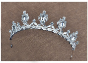 Korean diamond bride crown alloy diamond jewellery accessories
