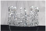 Japan and South Korea sweet bride small crown diamond ornaments ornaments