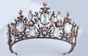 Retro bride crown European and American Baroque wind handdress accessories diamond jewellery