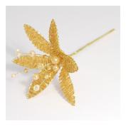 S & W Bridal B1395 | Crown Pearl Pins | 5cm x 5.5mm | Pack of 144 | Metal