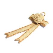 S & W Bridal B2080NAT | Ribbon Hanger | Small | Natural | Pack of 1