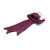 S & W Bridal B2081PU | Ribbon Hanger | Large | Purple | Pack of 1