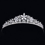 High-end luxury bride zircon crown crown ornaments
