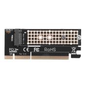 Amazingdeal PCI-E M.2 NVMe SSD to PCI-E 3.0 16x M Key Port Adapter Expansion Card
