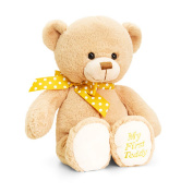 Keel Toys 25cm Beige Supersoft My First Teddy Plush Toy (25cm)