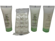 Simply be Well Ginseng Wild Mint Travel Set 2 Shampoo 2 Conditioner 2 Lotion 2 Soap