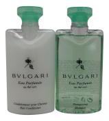 Bvlgari au the vert Green Tea Shampoo & Conditioner lot of 2