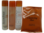 Terra Pure Wild Citrus Travel Set 2 Lotion, 2 Soap, 2 Shampoo and 2 Conditioner
