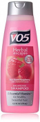 2 Pack VO5 Herbal Escapes Balancing Shampoo Sun Kissed Raspberry 370ml Each